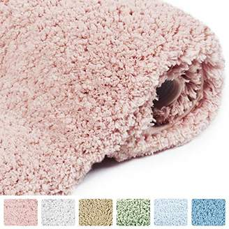 Norcho Bathroom Mat Soft Rug Door Mat Water Absorbent Antibacterial with Anti Slip Rubber Back Luxury