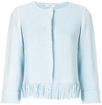 Charlott cropped fringe jacket
