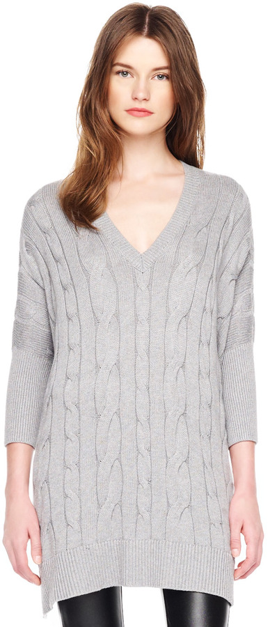 Michael Kors Loose Cable-Knit Sweater