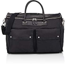 Felisi Men's Boxy Weekend Duffel Bag - Black