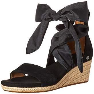 123e8f5b47e6 Women's Trina Wedge Sandal by UGG in Black – herlook.fashion