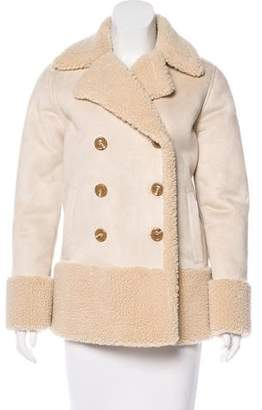 Mother Vegan Suede & Shearling Jacket w/ Tags
