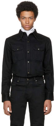 Calvin Klein Black Denim Shirt