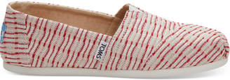 Red Stripe Jacquard Women's Classics