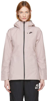 Nike Pink Tech Shield Fabric Jacket
