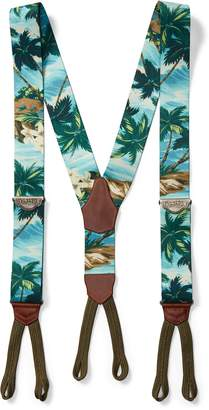 Ralph Lauren Hawaiian-Print Braces