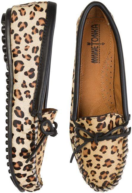 Minnetonka Full Leopard Moccasin