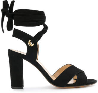 Tila March ankle tie Cancun sandals
