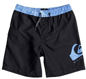 Quiksilver Lava Logo Volley Shorts