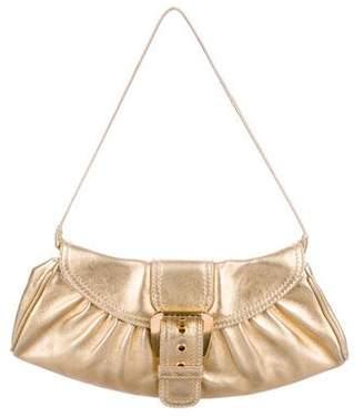 Celine Metallic Leather Shoulder Bag