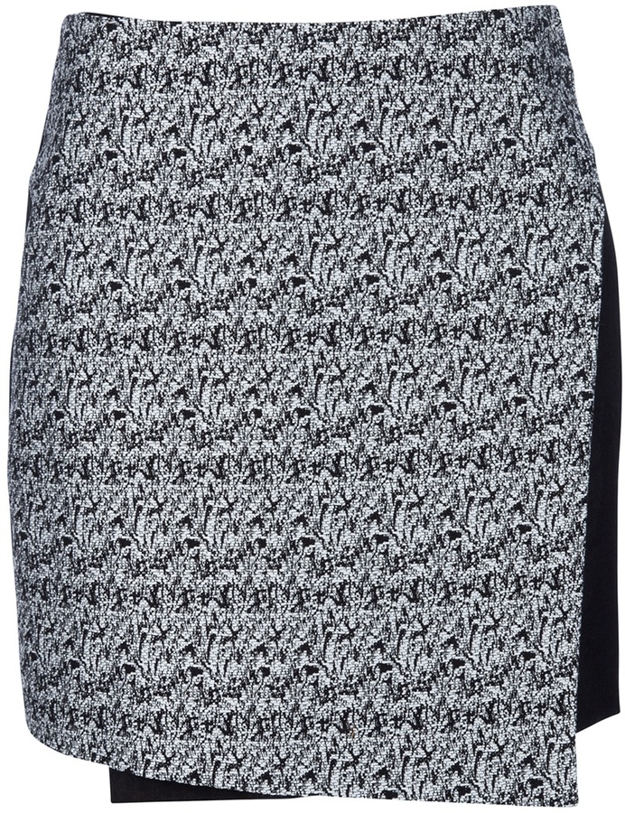 Carly Hunter 'Distortion Wrap' skirt