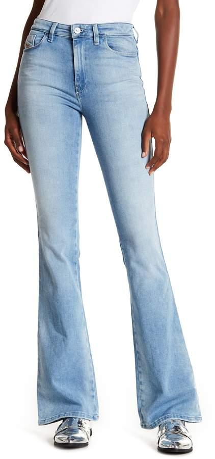 Diesel Skinzee Flare Jeans