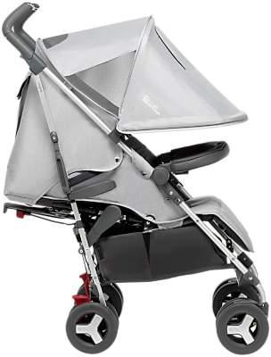 Silver Cross Reflex Stroller, Platinum Silver