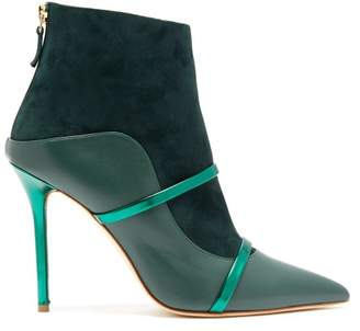 Malone Souliers By Roy Luwolt - Madison Suede Boots - Womens - Green Multi