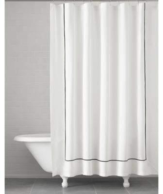 Verona Shower Curtain in Black