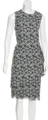 Jenni Kayne Printed Silk Midi Dress