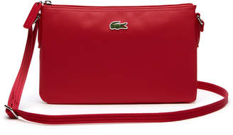 Lacoste Women's L.12.12 Concept Flat Crossover Bag