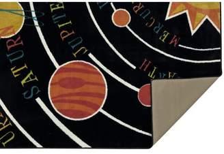 Viv + Rae Heimbach Solar System Black Area Rug Rug