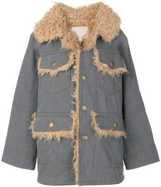 Marc Jacobs oversized patch pocket coat