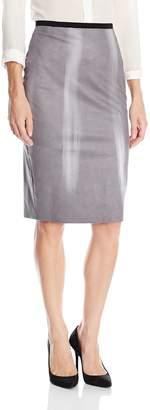 Elie Tahari Women's Violet Skirt