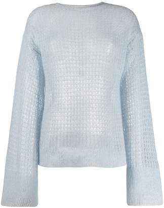 Genny open knit jumper