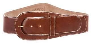 Donna Karan Leather Waist Belt