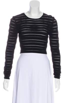 8bee8e7e65b393 Open Knitted Crop Top - ShopStyle