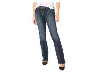 Silver Jeans Co. Elyse Mid-Rise Curvy Fit Slim Boot Jeans in Indigo