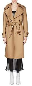 Maison Margiela Women's Cotton Belted Trench Coat - Beige, Tan