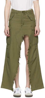 R 13 Green Surplus Skirt