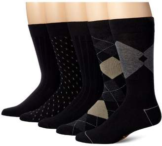 Dockers Classics Dress Argyle Crew Socks