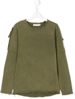 Andorine strapped sweatshirt