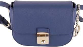 Trussardi Levanto Saffiano Faux Leather Shoulder Bag