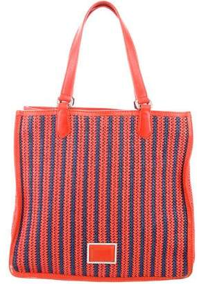 Marc by Marc Jacobs Colored Straw Bag