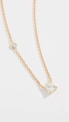Shay 18k Diamond Solitaire Necklace