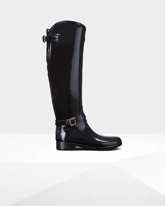 Hunter Women's Original Quilted Refined Tall Riding Boots