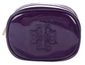 Tory Burch Patent Leather Small Classic Cosmetic Case w/ Tags