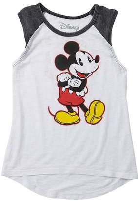 Jerry Leigh Mickey Pose 28 Muscle Tank (Little Girls & Big Girls)