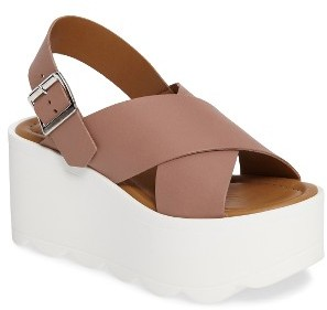 Women's Steve Madden Gigi Platform Wedge Sandal $99.95 thestylecure.com