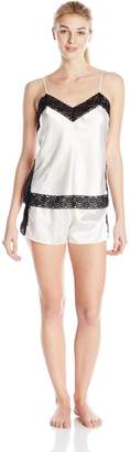 Flora Nikrooz Flora By Women's Shae Cami and Tap Shorts