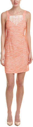 Trina Turk Clementine Linen-Blend Shift Dress
