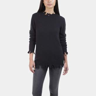 Iro . Jeans Iro Jeans Berito Distressed Cashmere Sweater