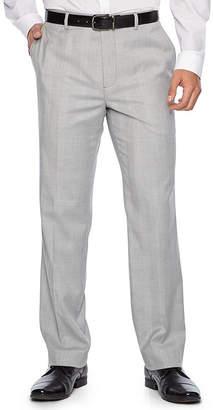 Jf J.Ferrar Plaid Super Slim Fit Suit Pants