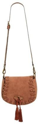 Elle & Jae Gypset Sevilla Saddle Bag - Brown $78 thestylecure.com
