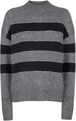 Rails Ellise Metallic Stripe Sweater