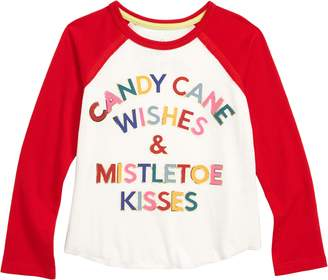 Peek Candy Cane Wishes Graphic Tee