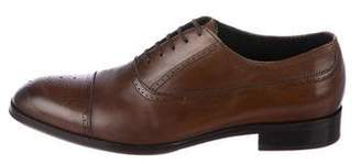 M.Gemi M. Gemi Leather Cap-Toe Brogues
