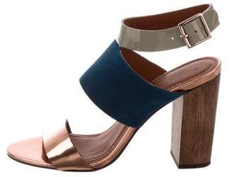 Elizabeth and James Colorblock Sandals