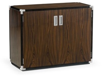 Jonathan Charles Fine Furniture Campaign Style 2 Door Accent Cabinet Jonathan Charles Fine Furniture