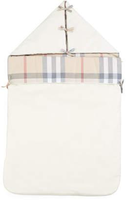 Burberry Lena Hooded Sleeping Bag, Cream